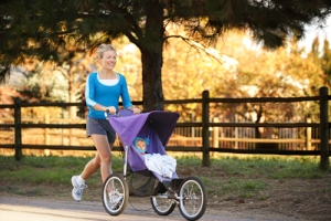 Running-with-Jogging-Stroller